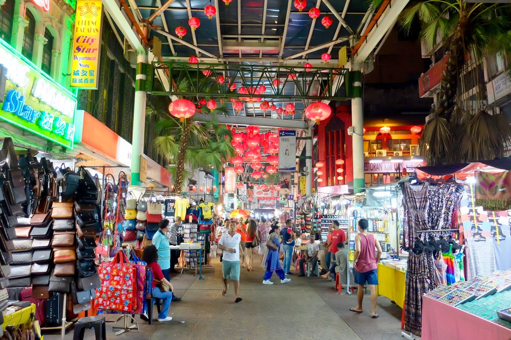 China Town Shopping, Kuala Lumpur