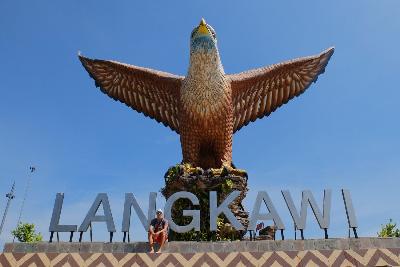 At the Eagle Square - Guide to Langkawi Island
