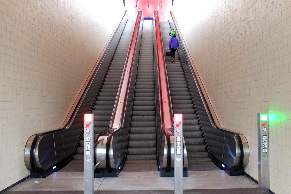 Metro in Amsterdam