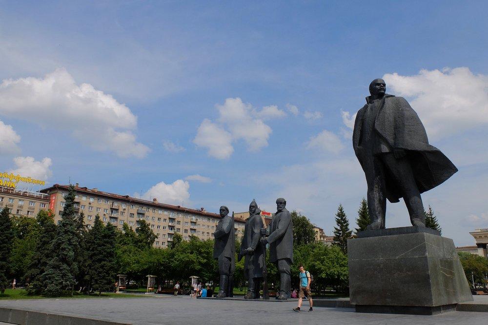 Statue of Lenin - Novosibirsk