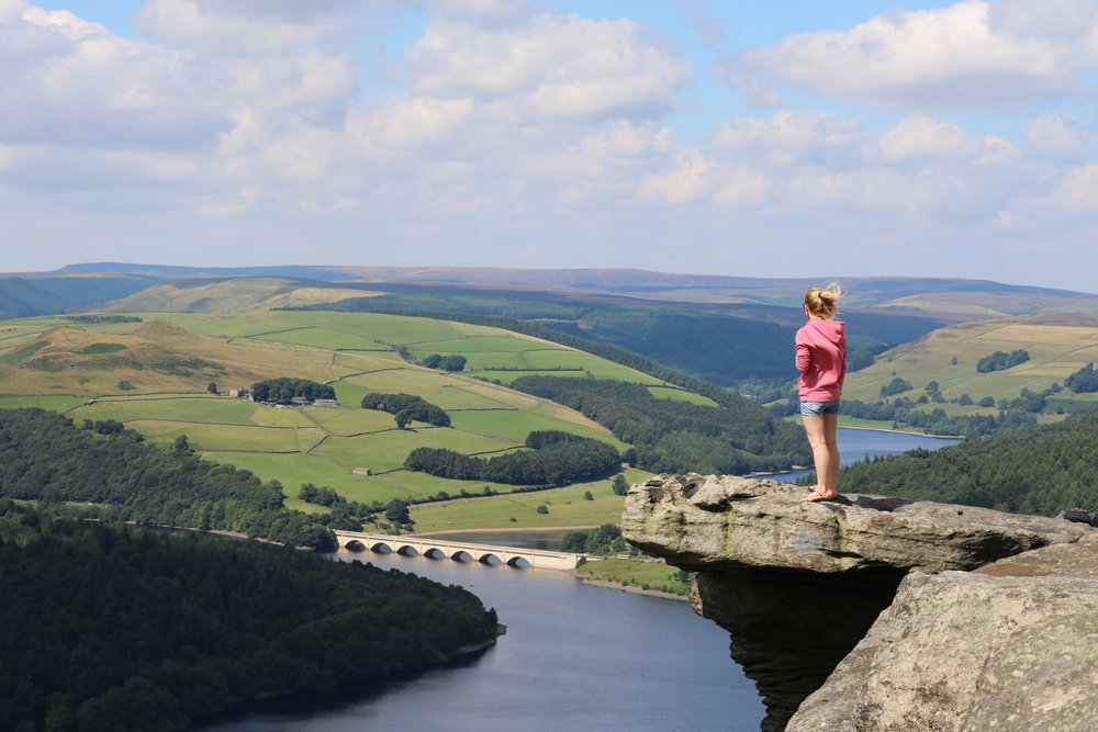 Laura visiting Peak District, England - Moving to Manchester