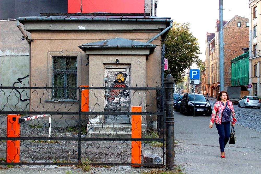 Miera iela in Riga, Latvia