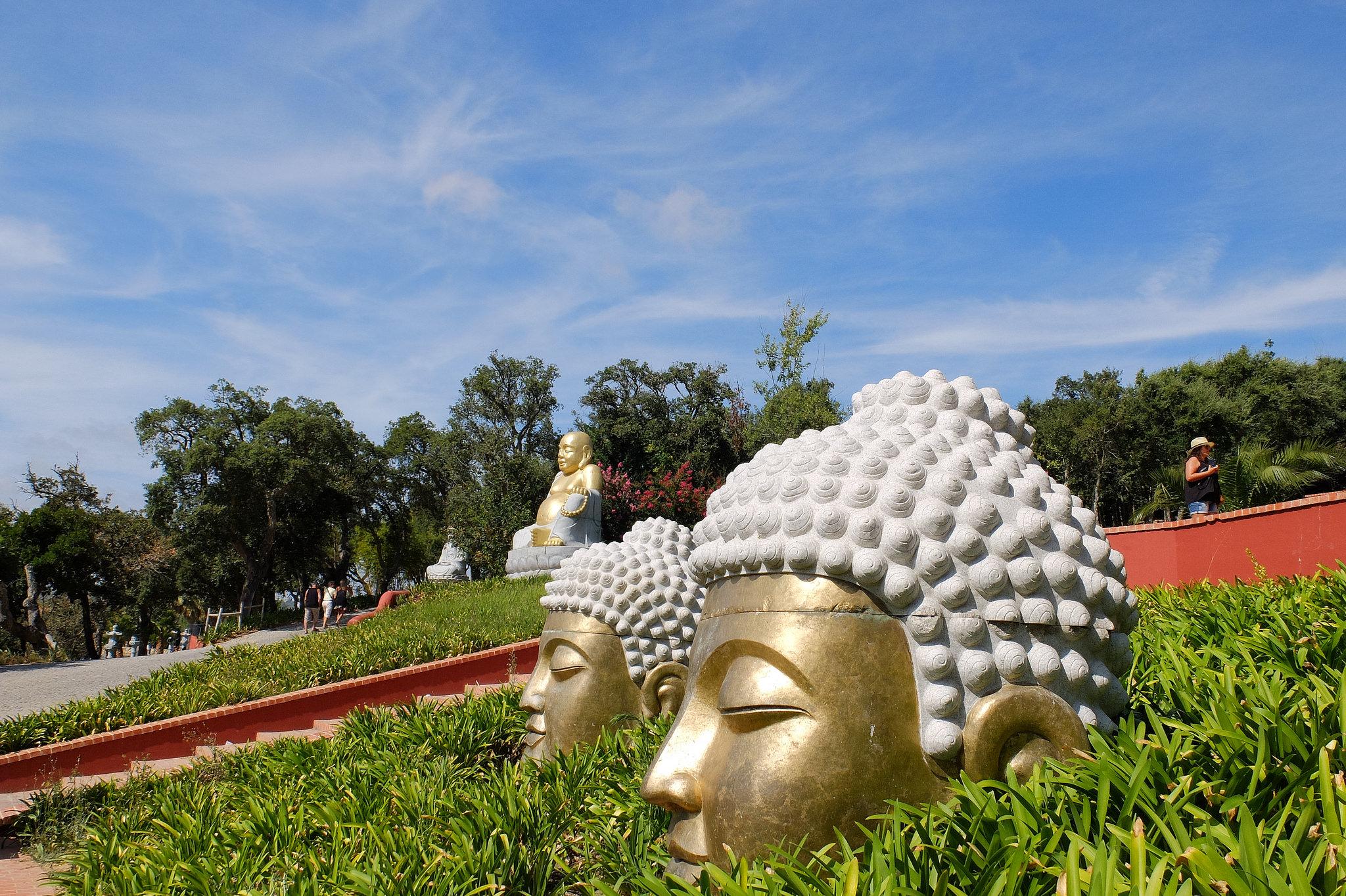 Statues in Buddha Eden Garden