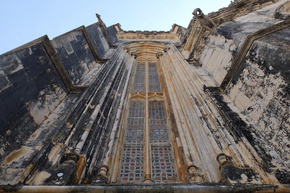 Windows of Batalha Monastery