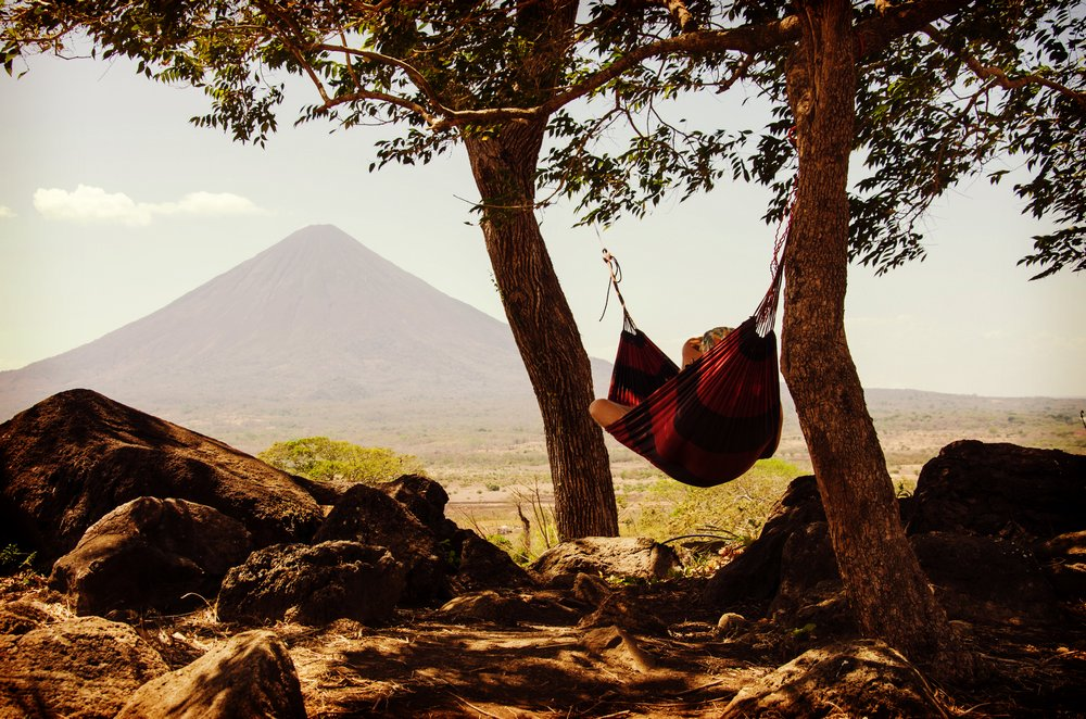 Sleeping in a hammock - finding accommodation abroad