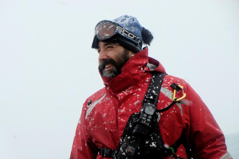 David Riordan - On an Antarctica expedition ship