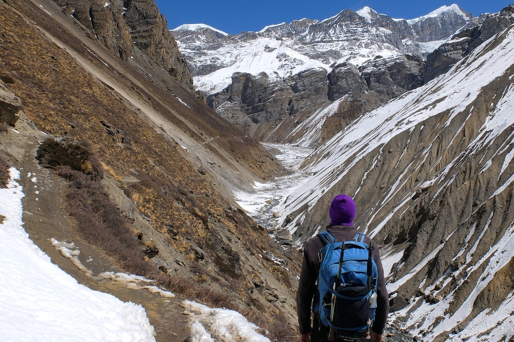 Hiking in Nepalese Himalayas
