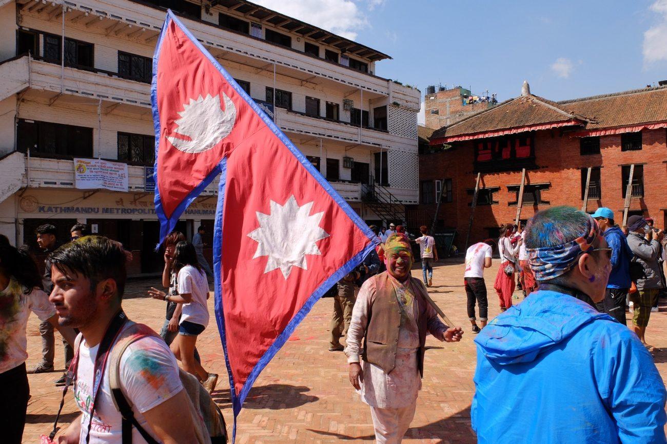 Holi in Kathmandu, Nepal