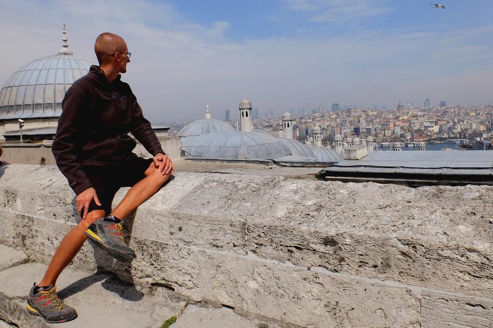Kaspars in Istanbul Turkey