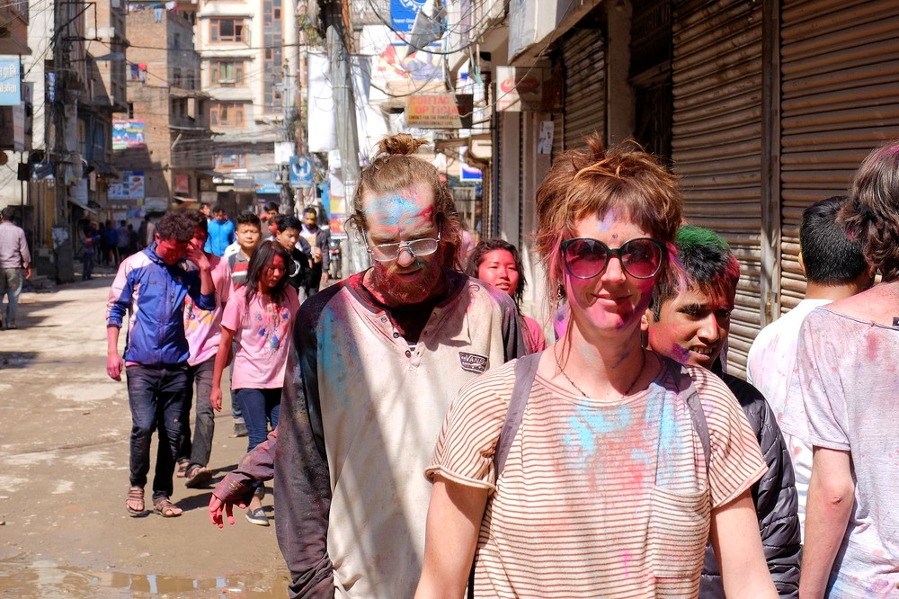 People - Kathmandu - Holi in Nepal
