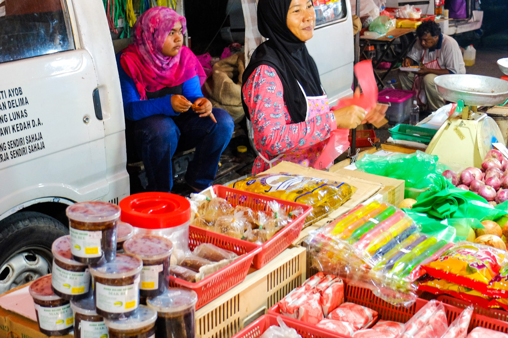 A local night market in Malaysia - Best Places to Visit in Kuala Lumpur