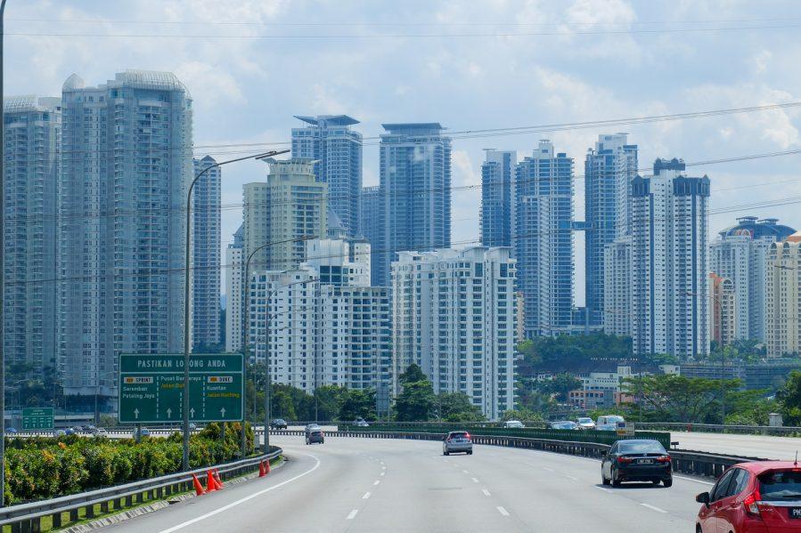 Entering Kuala Lumpur - Best places to visit in Kuala Lumpur