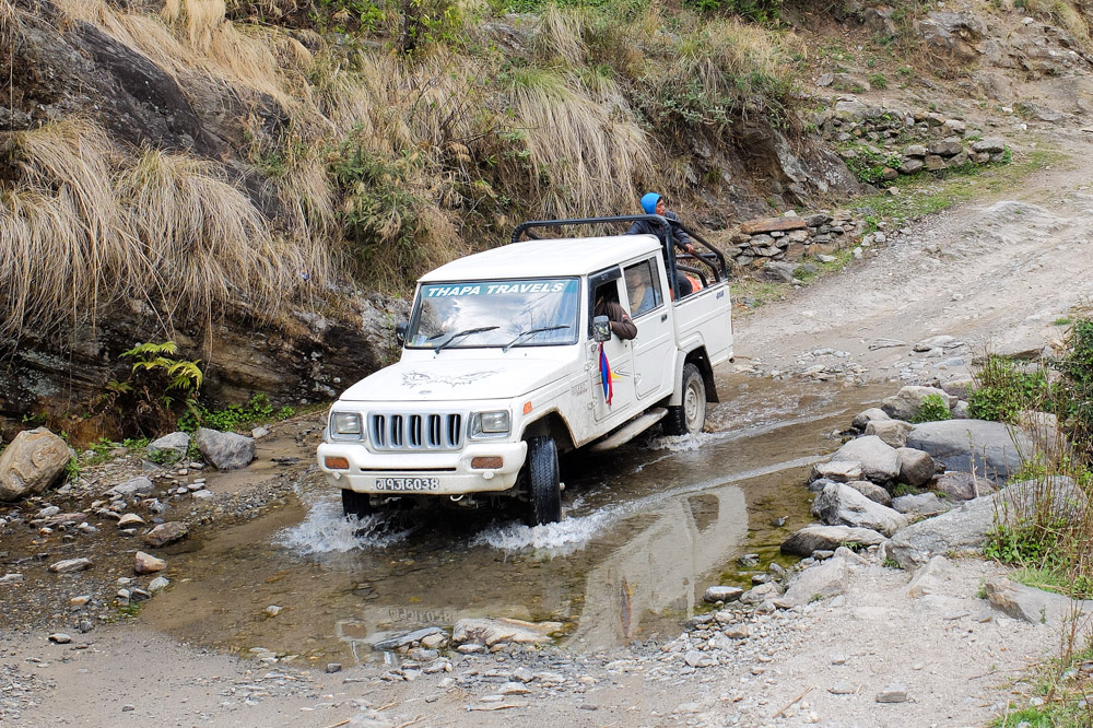 Jeeps in Nepal - Transportation in Nepal