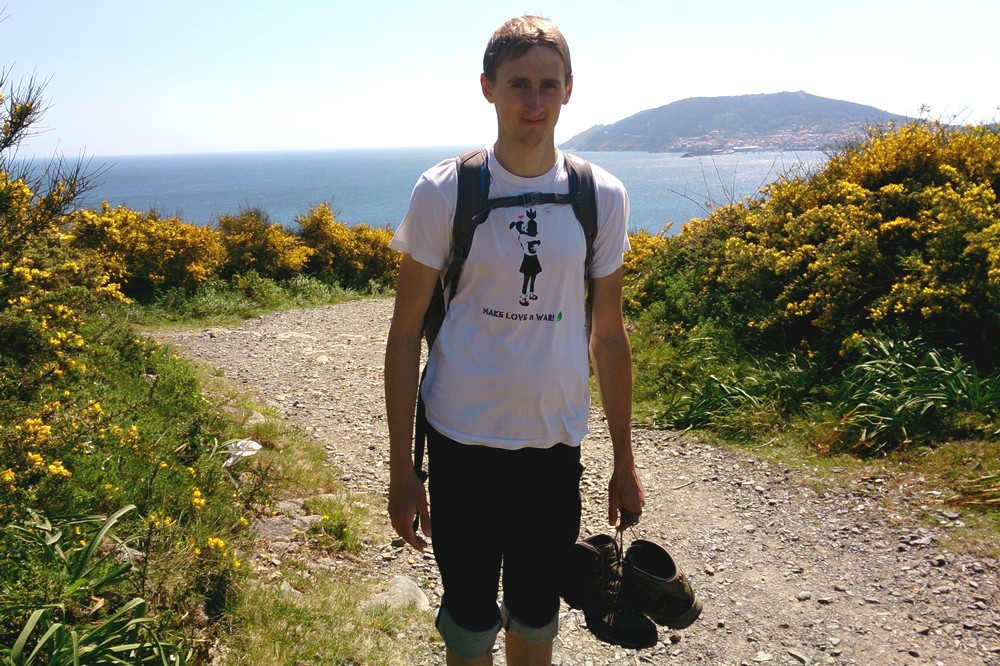 Kaspars walking Camino de Santiago - How We Started to Travel