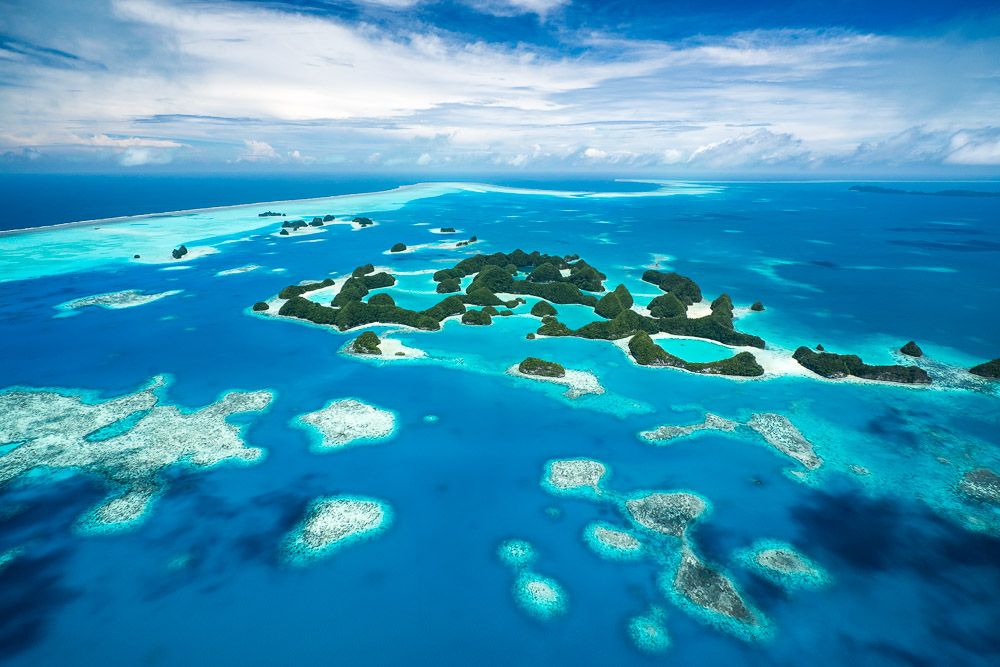 Scenic flight in Palau - Things to Do in Palau