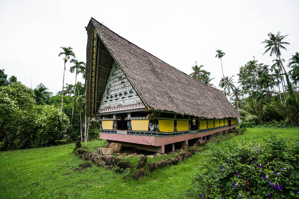 Traditional Bai House - Things to Do in Palau