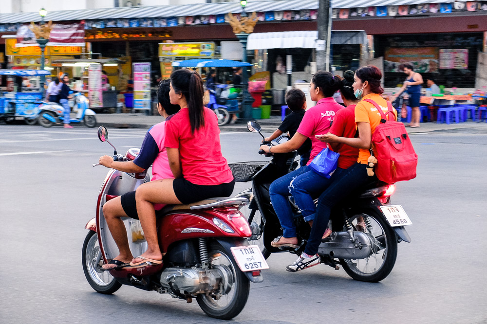 Girls on bikes - How We Afford to Travel