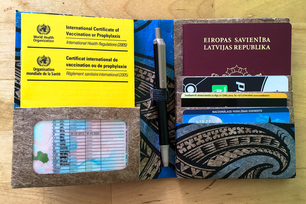 Green Banana Paper Travel Wallet - Best Passport Holders