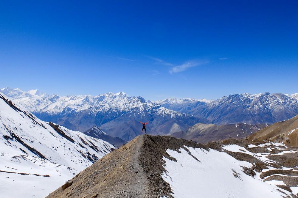 Kaspars in Nepal - Annapurna Circuit trek