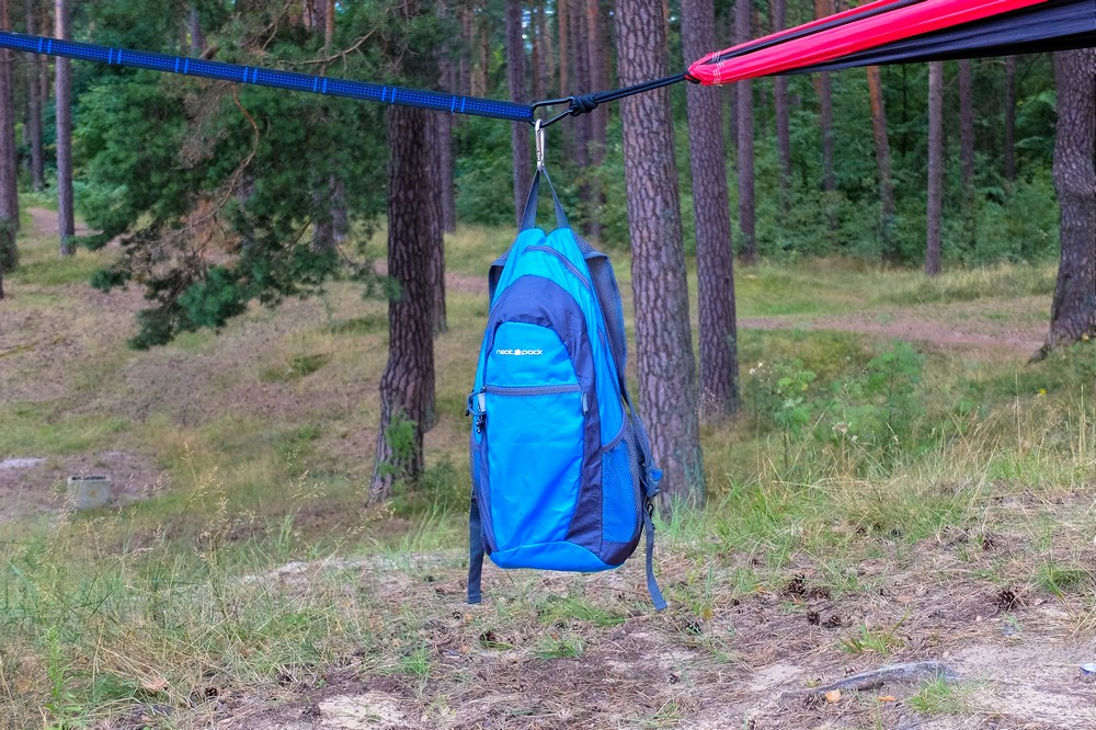 NeatPack Foldable Daypack Hanging