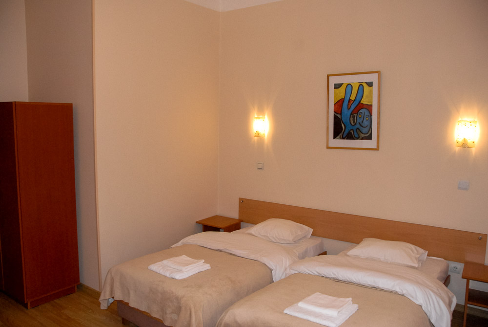 Twin Room at Knights Court - Best Hotels in Riga