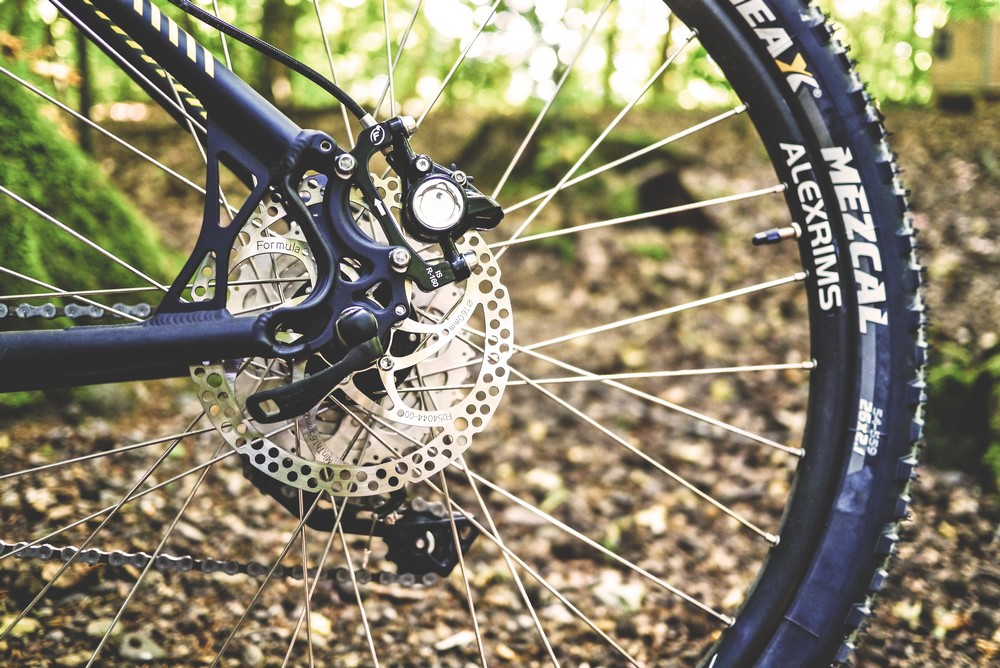 Wheel of the bike - Top Things to Do in Latvia
