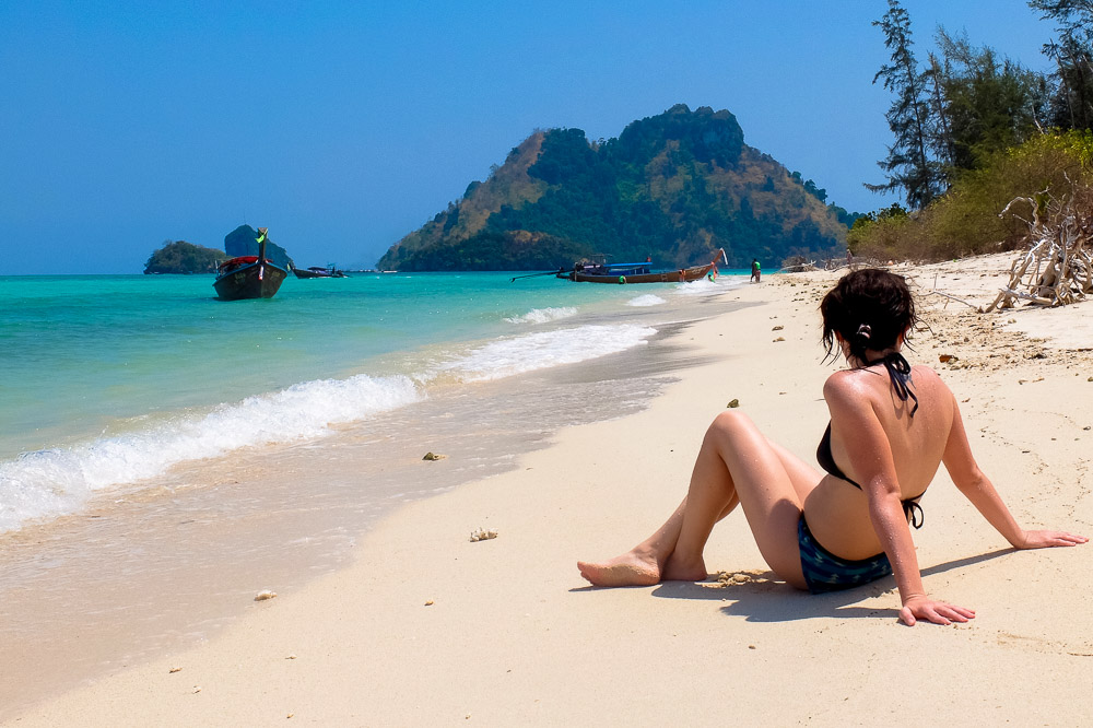 A girl on the beach in Thailand - Best Books on Southeast Asia - Best Books on Asia