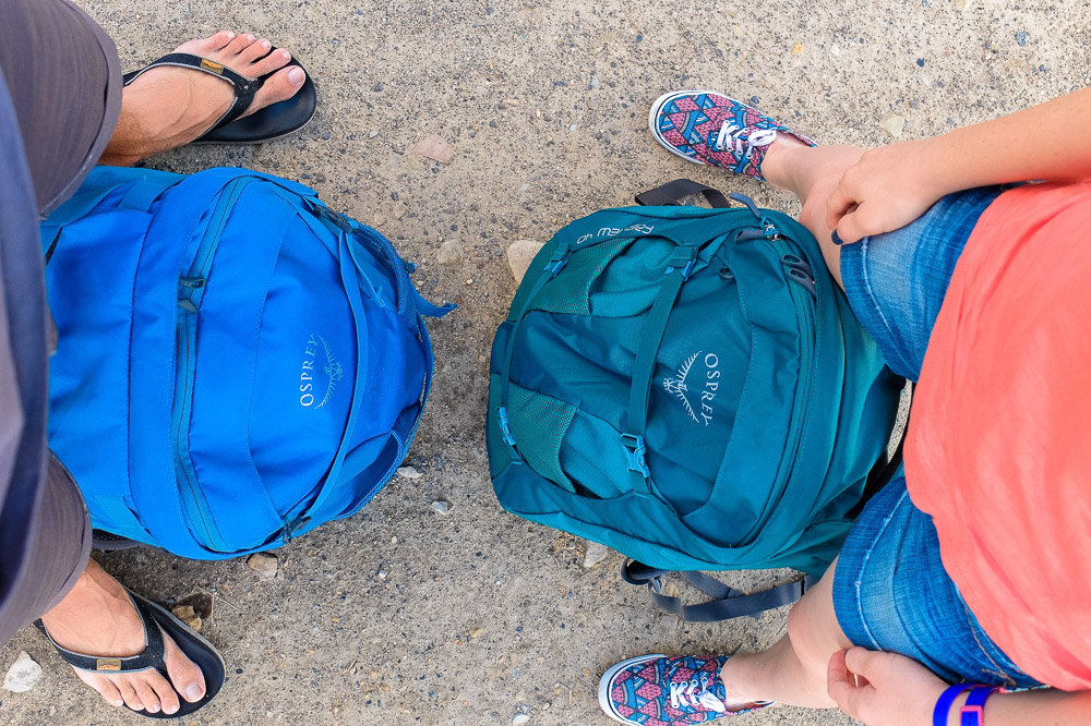 Osprey Fairpoint and Osprey Fairview Backpacks - Osprey Fairview 40 Review