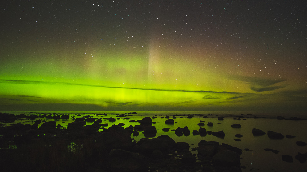 Northern Lights on Kaltene Stony Beach - Photos from Latvia - Why Visit Latvia