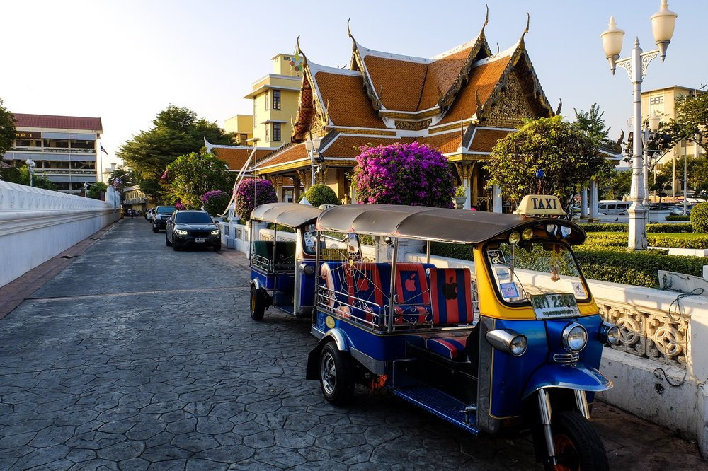 A tuktuk in Bangkok, Thailand - My Long Journey to Thailand