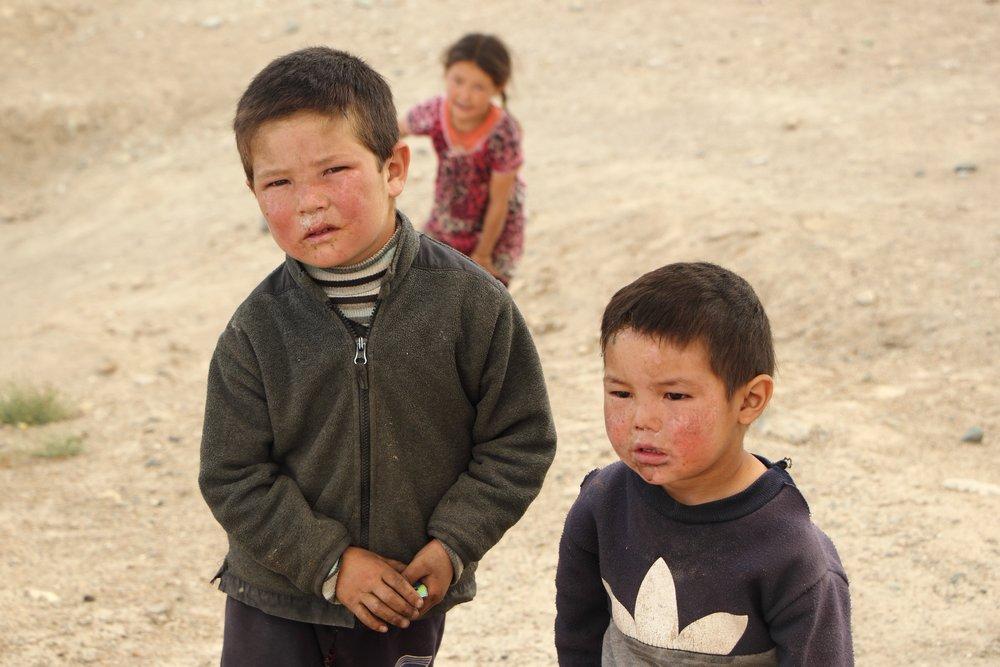 Kids in Murghab, Tajikistan - Solveiga Kalva
