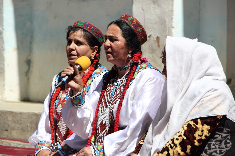 Local women in Ishkashim, Tajikistan - Solveiga Kalva