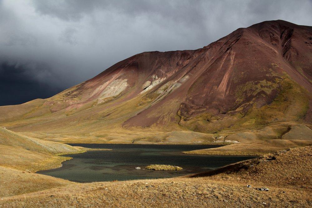 Mountains, Sary Mogul, Kyrgyzstan - Solveiga Kalva