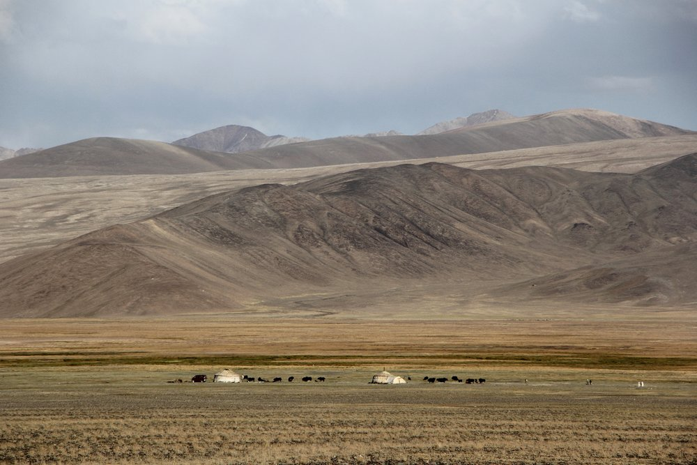 Tajikistan, Pamir highway, on the way from Khorog to Murghab - Photo by Adrienn Lorincz - Solveiga Kalva