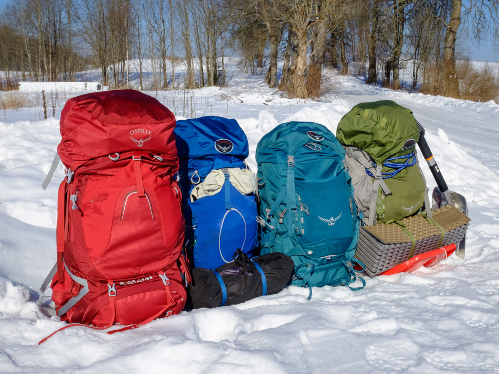 4 Osprey backpacks - Osprey Aura AG 65 review