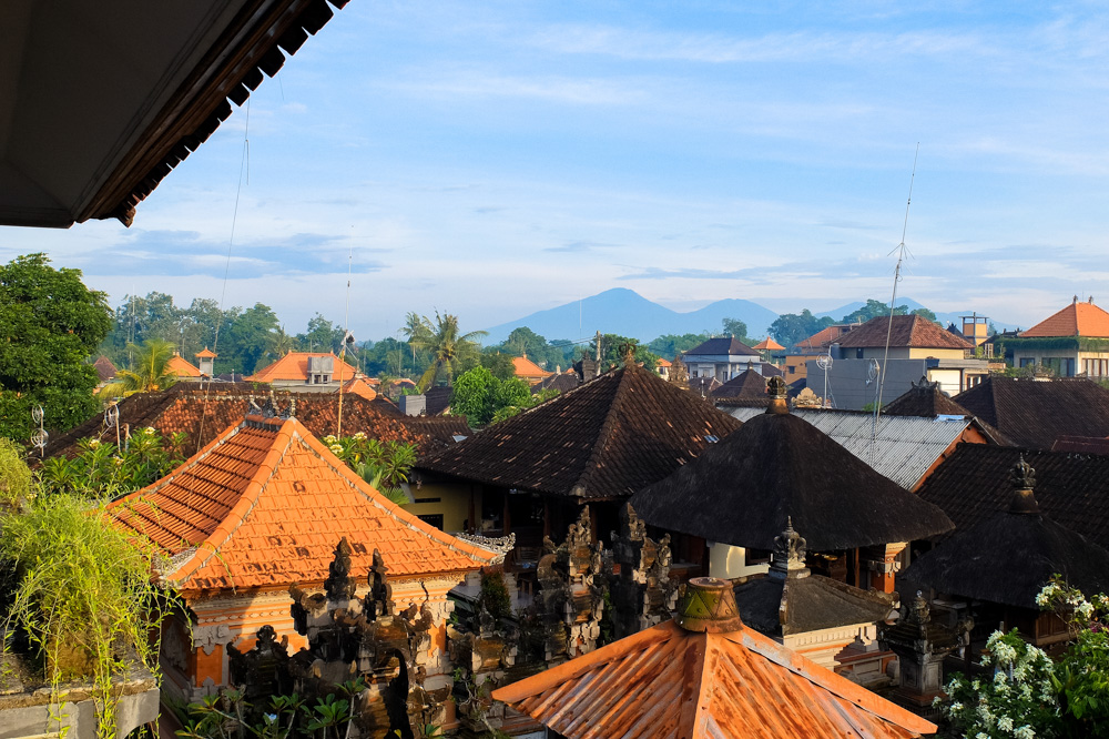 A view of Ubud, Bali
