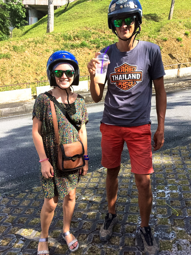 Kaspars and Una in Langkawi, Malaysia