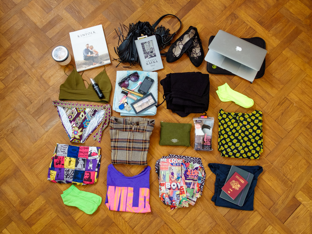 Packing for a trip - Tortuga Setout Review