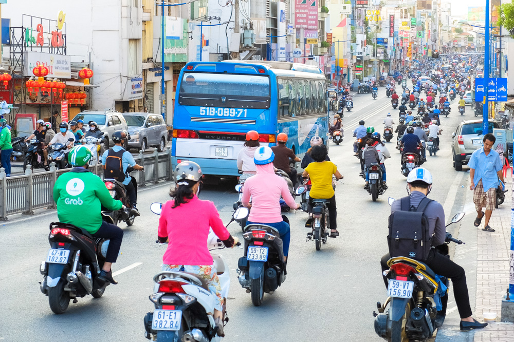 Traffic in Ho Chi Minh City - Vietnam Photo Story