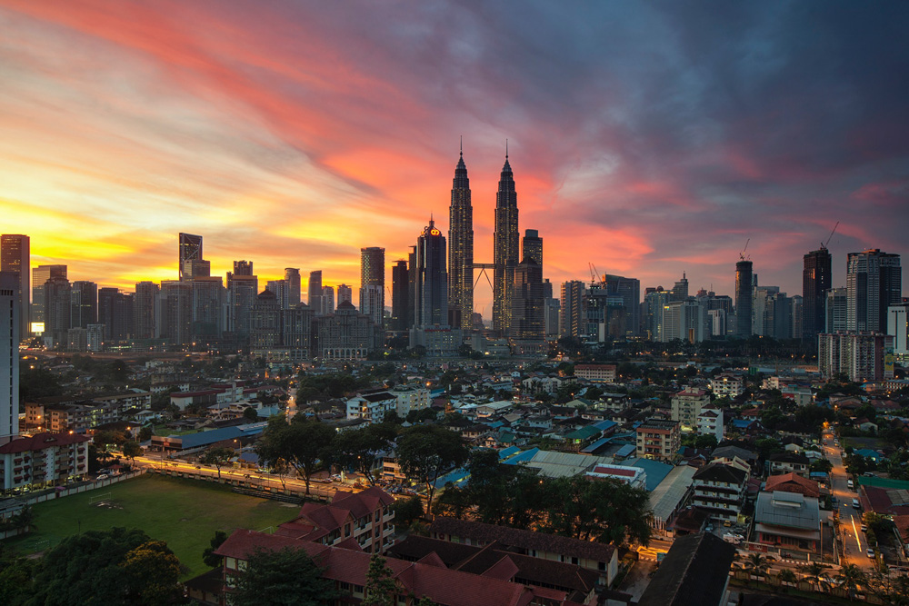 A view of KL from a far - Best Hotels in Kuala Lumpur