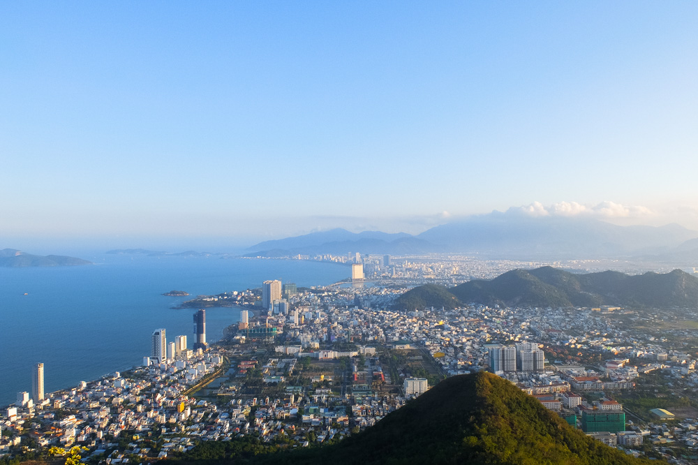 A view of Nha Trang from the mountain - Vietnam Travel Tips