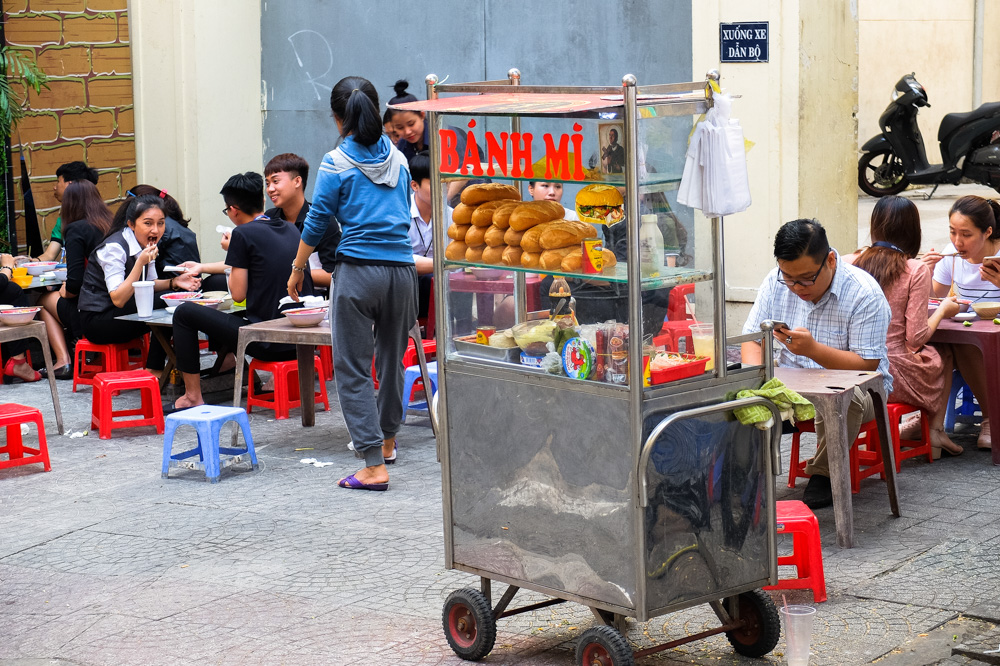 Banh Mi Baguettes in Ho Chi Minh City - Vietnam Photo Story