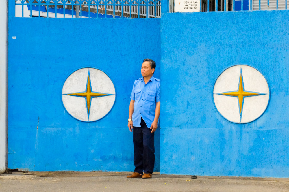 Blue gates in Ho Chi Minh City - Vietnam Travel Tips
