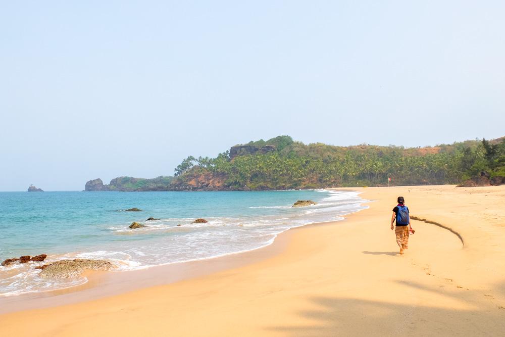 Cabo De Rama Beach in Goa, India - Overland Journey in India