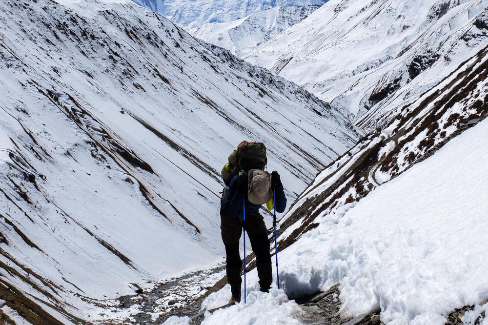 Going to Thorung Pedi - Annapurna Circuit Photos