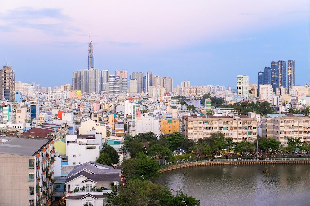 Ho Chi Minh City Skyline - Vietnam Visa on Arrival