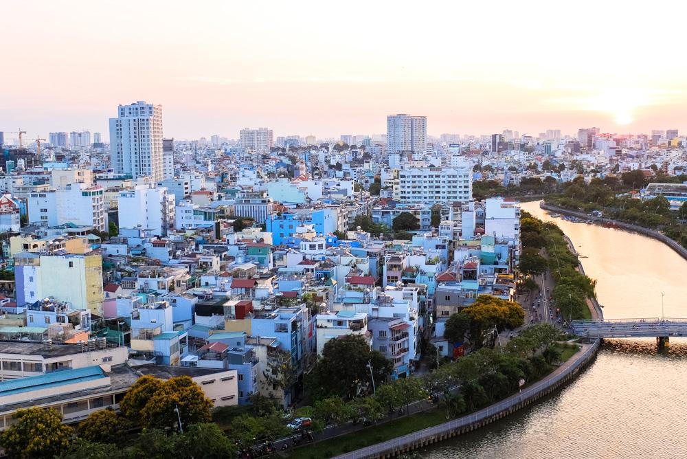 Ho Chi Minh City from above - Vietnam Photo Story