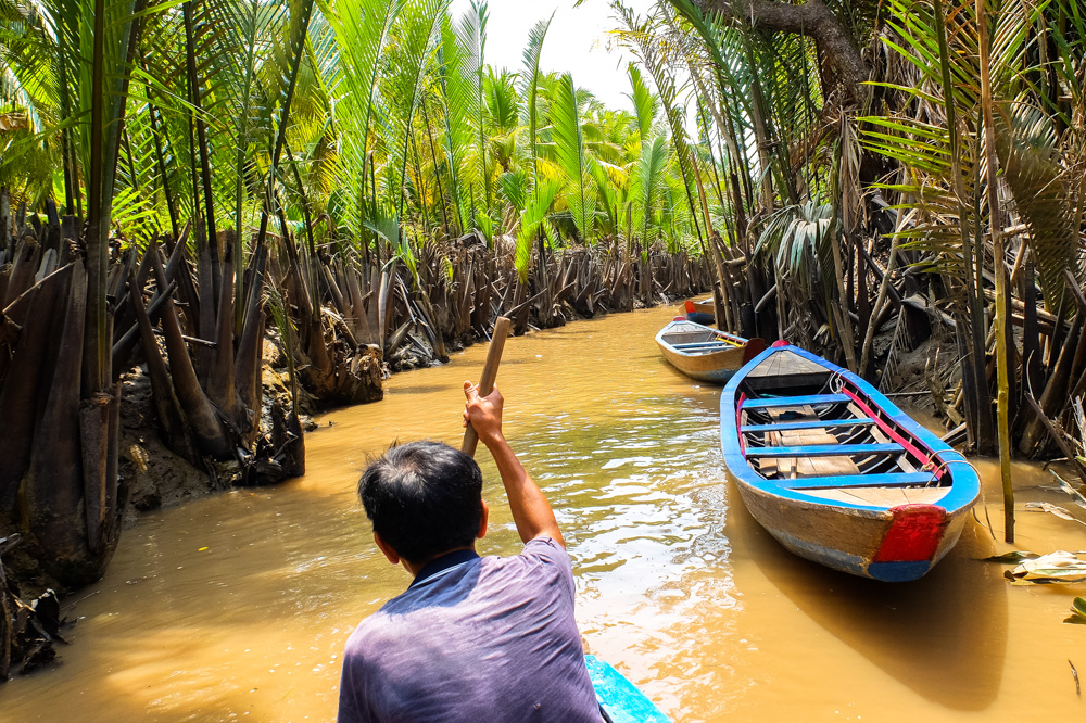 On a Mekong Delta tour - Vietnam Photo Story
