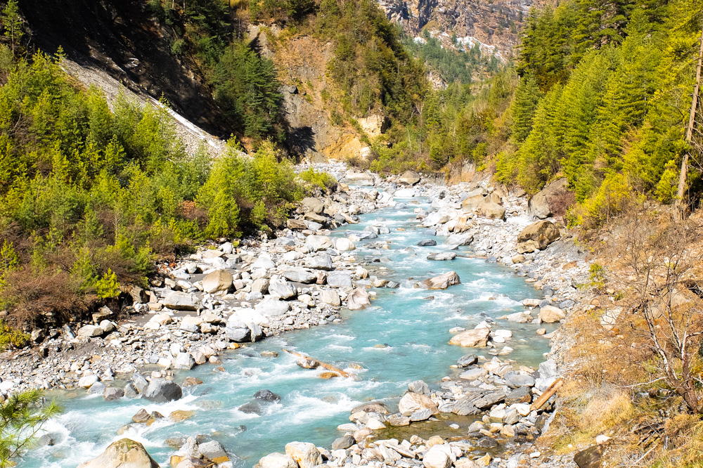 River - Annapurna Circuit Photos