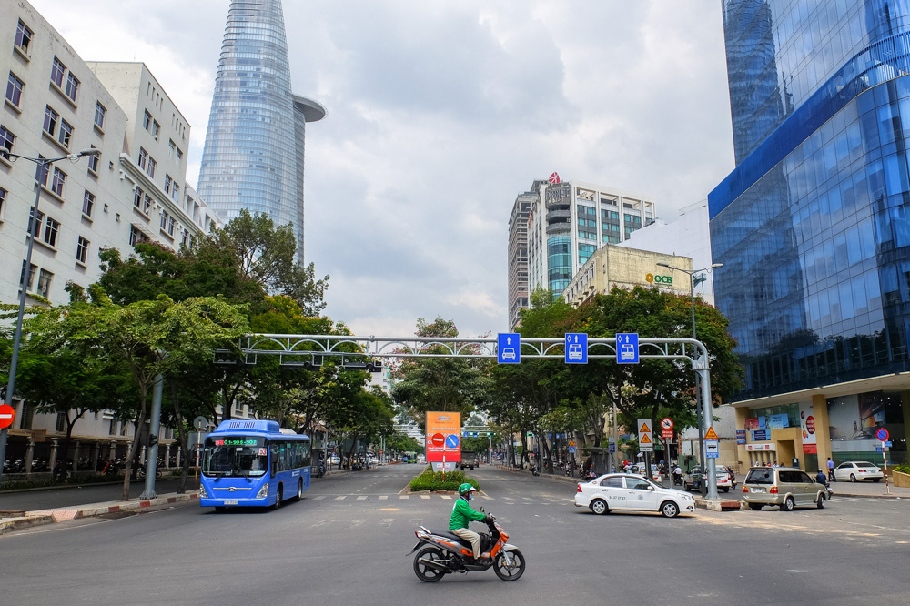Skyscrapers in Ho Chi Minh City - Vietnam Photo Story